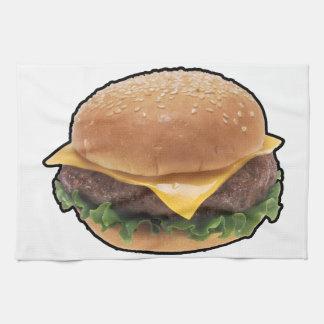 Cheeseburger Toallas De Cocina