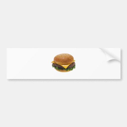Cheeseburger Pegatina De Parachoque
