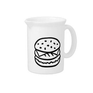 Cheeseburger Pitcher