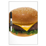 Cheeseburger Pizarra Blanca