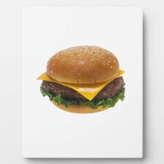 Cheeseburger Plaque