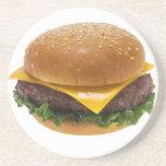 Cheeseburger Posavasos Para Bebidas