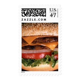 Cheeseburger Postage
