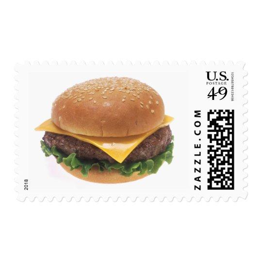 Cheeseburger Postage