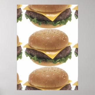 Cheeseburger Póster