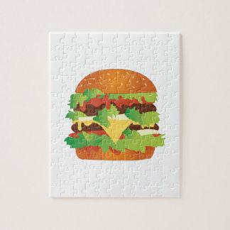 Cheeseburger Rompecabezas