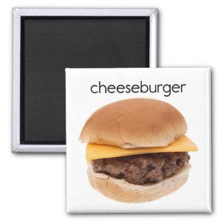 Cheeseburger Refrigerator Magnet