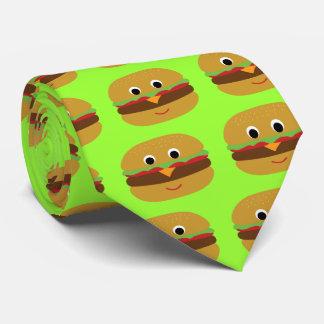 Cheeseburger retro corbatas