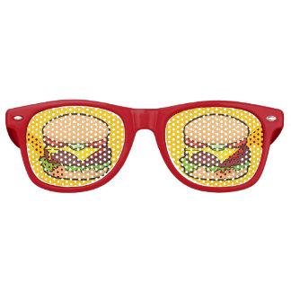 Cheeseburger Retro Sunglasses