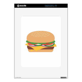 Cheeseburger Skin For iPad