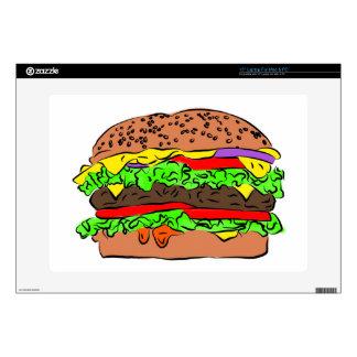 Cheeseburger Skin For Laptop