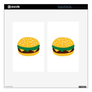 Cheeseburger Skins For Kindle Fire