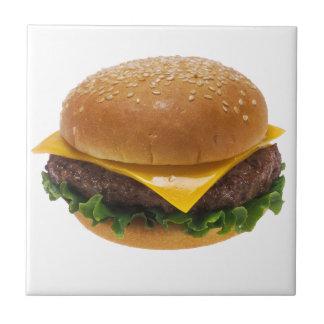 Cheeseburger Small Square Tile