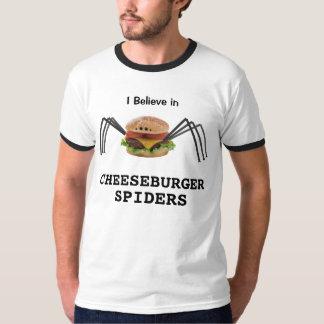 Cheeseburger Spiders Tee Shirt