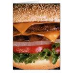 Cheeseburger Tarjeton
