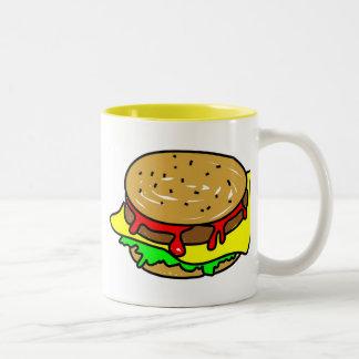 cheeseburger tazas