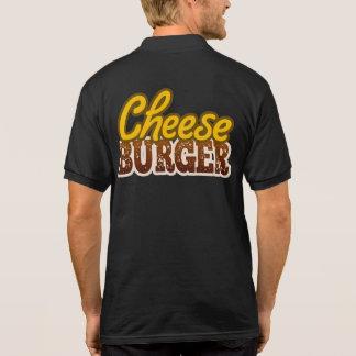 Cheeseburger Text Design Polo Shirt
