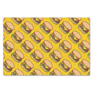 Cheeseburger Tissue Paper
