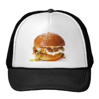 cheeseburger trucker trucker hat