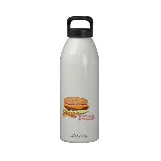 Cheeseburger Reusable Water Bottles