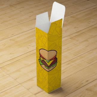 Cheeseburger Wine Box