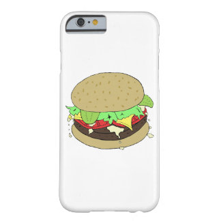 Cheeseburger With Salad Barely There iPhone 6 Case