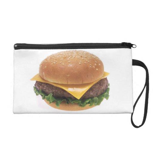 Cheeseburger Wristlet