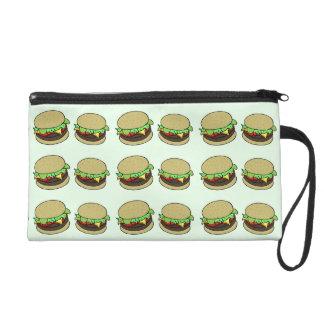 Cheeseburger Wristlet Purse