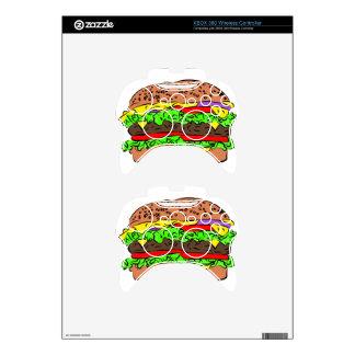 Cheeseburger Xbox 360 Controller Skins