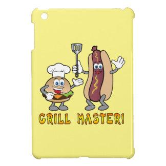 Cheeseburger y perrito caliente Grill Master