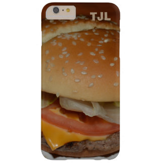 Cheeseburger - Your Initials, Personalized case! Barely There iPhone 6 Plus Case