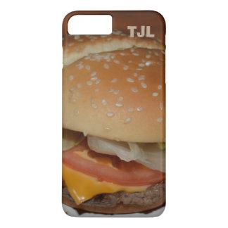 Cheeseburger - Your Initials, Personalized case! iPhone 8 Plus/7 Plus Case