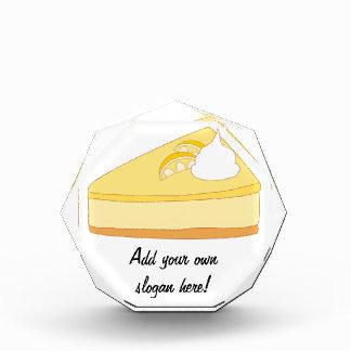 Cheesecake: A Delicious Dessert Customizable Acrylic Award