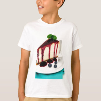Cheesecake And Blueberries T-Shirt