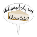 Cheesecake Cake Pick