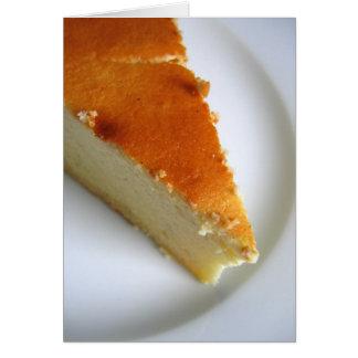 Cheesecake Card