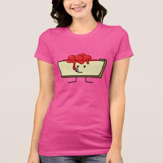 Cheesecake licking cherries topping pie crust T-Shirt