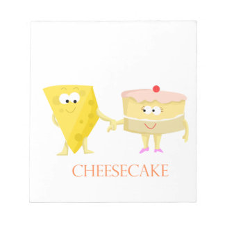 Cheesecake Notepad