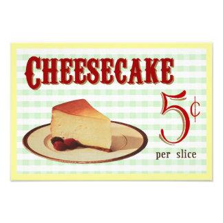 Cheesecake Photo Print