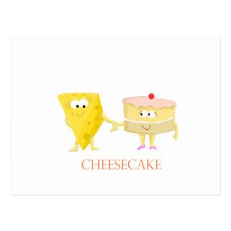 Cheesecake Postcard