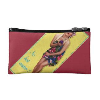 Cheesecake Retro Pinup Art Washbag / Makeup Bag