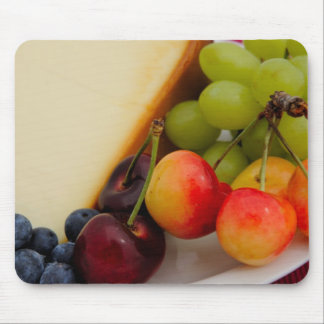 Cheesecake With Fruit Mouse Pad