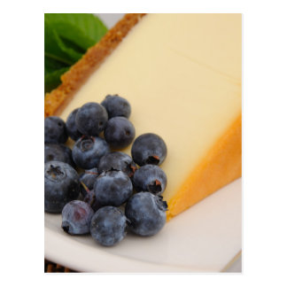 Cheesecake With Fruit Postcard