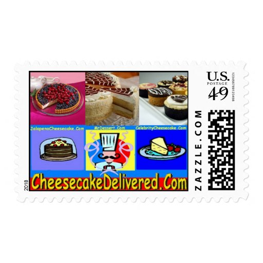 CheesecakeDelivered Postage stamps