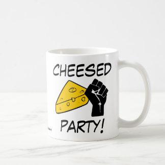 Cheesed Party Classic White Coffee Mug
