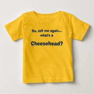 Cheesehead Baby Shirt