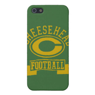 Cheesehead C Football 1 Case For iPhone SE/5/5s