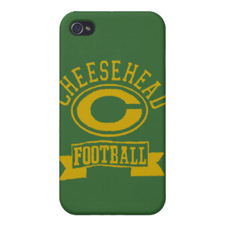 Cheesehead C Football 1 iPhone 4 Cover