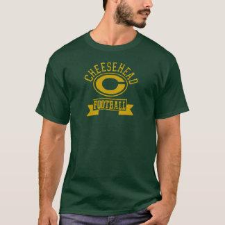 Cheesehead C Football 1 T-Shirt