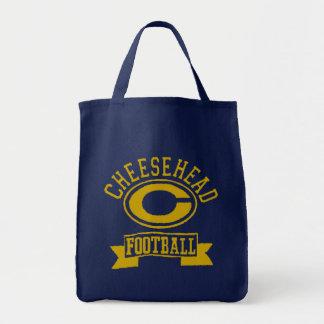 Cheesehead C Football 1 Tote Bag